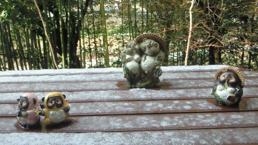 雪見そば!?
